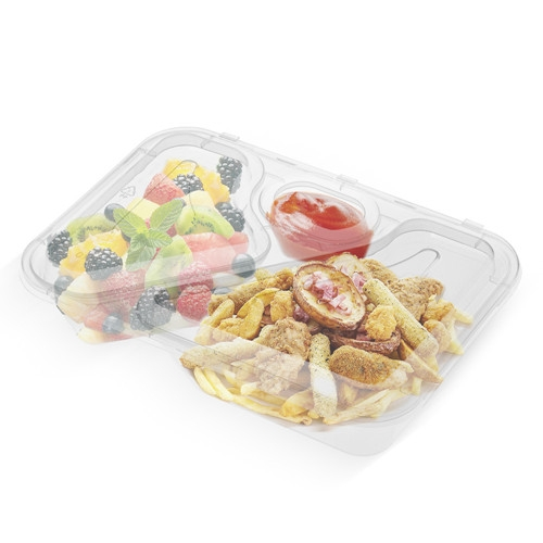 Disposable Transparent Clear Plastic Container PP
