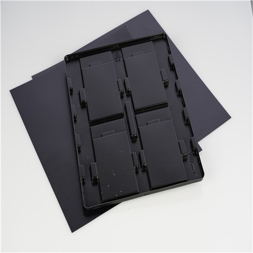Black conductive ps plastic sheet for electronic packing
