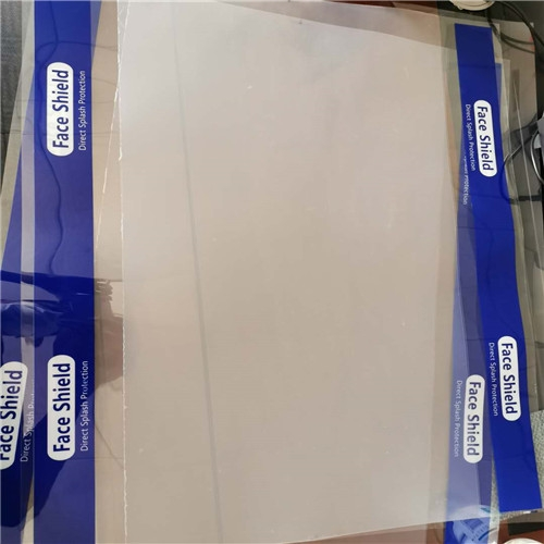 Transparent 0.25mm PET Plastic Sheet roll for face shield