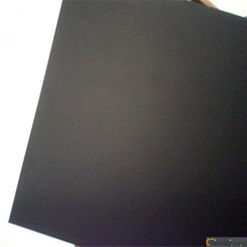 Conductive pp plastic sheet black